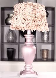 diy shabby chic decor lamp and lamp shade diy joy