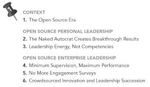 amazon com open source leadership reinventing management when