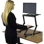 Desk Extender For Standing Standing Desk Sit Stand Desk U0026 Stand Up Desk Staples