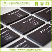 Business Card With Qr Code Black Emboss Silver Stamping Art Paper Business Card With Wechat