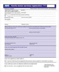 sample patient registration form 8 free documents download in