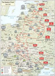 Map Of Concentration Camps E8 Operation Bagration Campaign Maps Of Ww Ii Pinterest