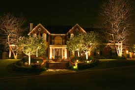 How To Design Landscape Lighting Landscape Lighting R R Caddick Landscape Design
