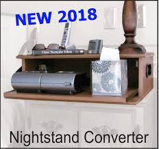 How To Organize Nightstand Stylish Cpap Storing Nightstands Sleep Review