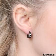 huggie earring huggie earring grimrune grimfrost
