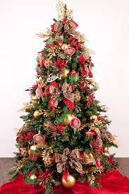 mesh ribbon ideas interior decorating ideas for christmas trees made 4 decor