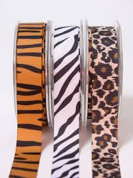 grosgrain ribbon bulk 7 8 inch grosgrain animal print ribbon may arts wholesale ribbon