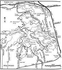griffith park map griffith park survey