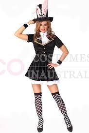 Halloween Costumes Bunny Rabbits Ladies Black Bunny Rabbit Costume Fancy Dress Halloween Hens Party