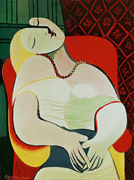Dora Maar In An Armchair The Dream By Pablo Picasso