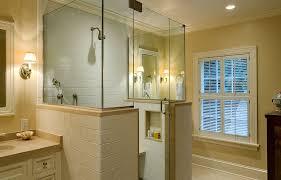 Bathroom Shower Stalls Ideas Shower Enclosure Ideas Bathroom Traditional With Arched Windows