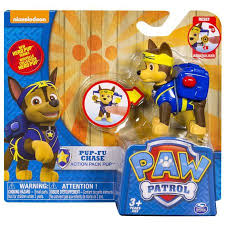 paw patrol action pack pup pup fu chase figure walmart