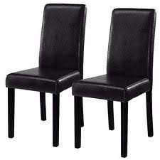 magnificent ideas black leather dining room chairs cool design