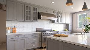 light gray kitchen cabinets with granite buy light gray rta ready to assemble kitchen cabinets