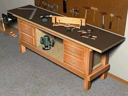 Free Woodworking Workbench Plans by Work Bench Designs Treenovation