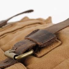 vintage leather and canvas messenger bags mens vintage rugged