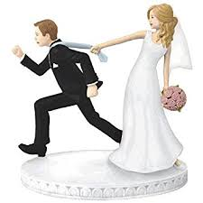 black wedding cake toppers comical tie puller wedding cake topper party supply