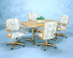 kitchen table with caster chairs dining table with caster chairs decoration round dining room sets