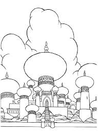 princess jasmine castle coloring pages coloring