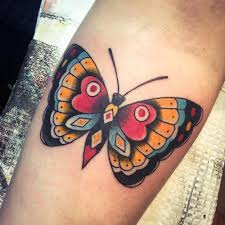 38 traditional butterfly tattoos