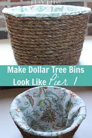 how to make dollar tree storage bins look like pier 1 busy bliss