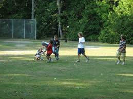 file harrisville state park backyard football jpg wikimedia commons