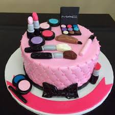fondant cake faridabad special mac makeup kit fondant cake delivery in
