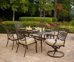 9 Piece Patio Dining Set - hanover traditions 7 piece deep cushioned outdoor dining set