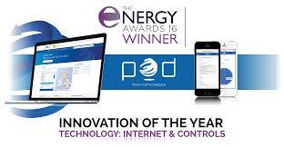 pod wins prestigious tech award at uk energy awards pulse