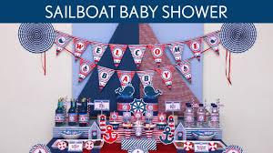 sailor baby shower decorations sailor baby shower ideas white paper banner decoration wine