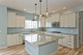 light blue kitchen walls cabinets white kitchen cabinets light blue walls in a kitchen