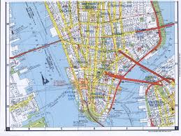 Downtown Manhattan Map South Manhattan Map