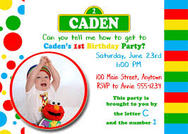 birthday invitation invitation sesame theme