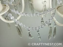 Adding Crystals To Chandelier Chandelier Makeover The Tutorial Finally Crafty Nest