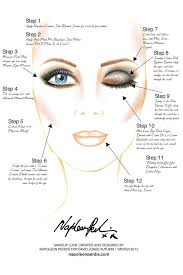 Hair And Makeup Case 30 Best U2022face Charts U2022 Images On Pinterest Mac Face Charts Mac
