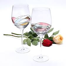 wine glass gifts wine glass lamiga unique painted gifts for