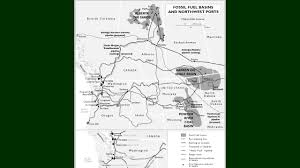 Western Us Map Zoltan U0027s Map Of Oil And Coal Ports In Western Us Canada Youtube