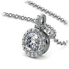 necklace pendant setting images Diamond pendant sets setting your diamond in a necklace jpg