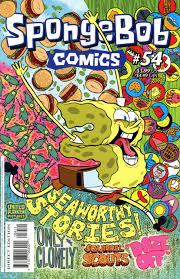 spongebob comics 54 issue