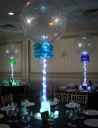 Led Light Base For Centerpieces by Aqua Gems Centerpieces Balloon Artistry