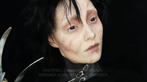 edward scissorhands makeup tutorial youtube