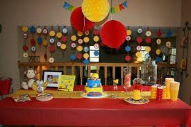 curious george party ideas curious george birthday decorations my birthday