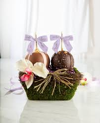 garden gift basket garden gift baskets dipped apples delivered
