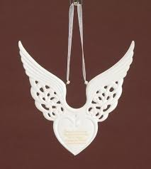 wings keepsake ornament