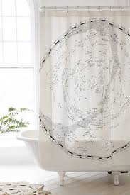 Shower Curtain Map Magical Thinking Constellation Map Shower Curtain Urban