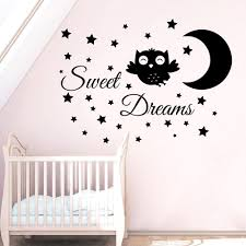 Owl Wall Sticker Compare Prices On Baby Girl Wall Decal Online Shopping Buy Low