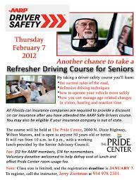 senior driving class aarp driver safety refresher driving course for seniors pride
