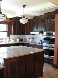 white backsplash dark cabinets kitchen backsplash for dark cabinets delectable decor abee kitchens