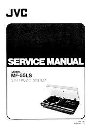jvc mf55ls service manual immediate download