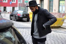 mens leather biker jacket get your leather jacket game right the idle man